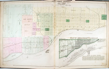 City_of_Fort_Madison_with_a_map_of_Madison_Township_p_4849